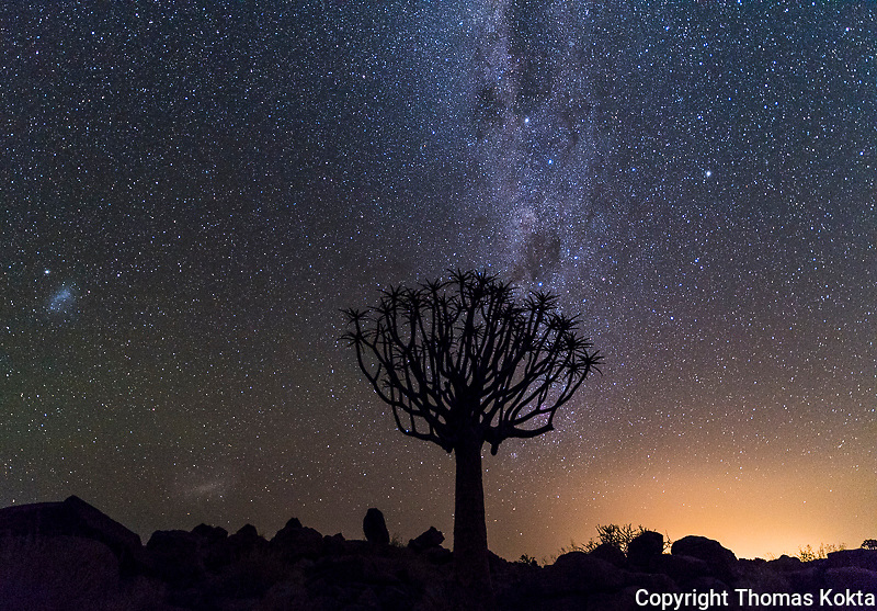 Night Sky in Namibia