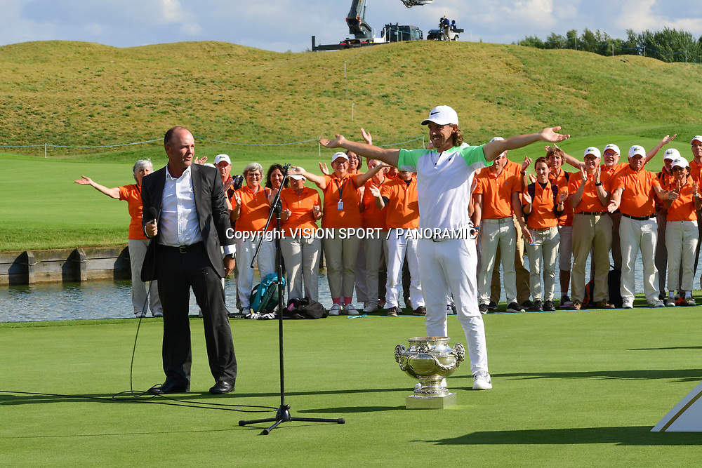 TOMMY FLEETWOOD (ANG) WINNER HNA OPEN DE FRANCE