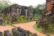 Cham Temple ruins at the My Son Sanctuary, Quang Nam Province, Vietnam, Southeast Asia