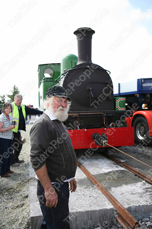 Jackie Whelan and The Slieve Callan back on the tracks at Moyasta on Monday.<br /> <br /> Photograph by Eamon Ward