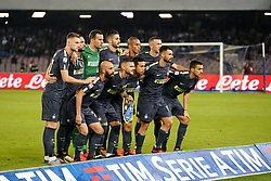 October 21, 2017 - Napoli, Napoli, Italy - Naples - Italy 21/10/2017.F.C. INTER during Serie A  match between S.S.C. NAPOLI and INTER  at Stadio San Paolo of Naples. (Credit Image: © Emanuele Sessa/Pacific Press via ZUMA Wire)