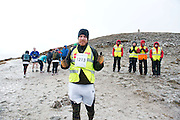 "Hardy Buck Martin Maloney participating in the ""Westport  Sea 2 Summit ""  adventure race on Croagh Patrick, where 1100 athletes ran, cycled and hiked 56km(summit) and (27km Ridge) in Co Mayo . Photo:Andrew Downes"