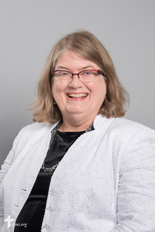 Headshot photograph of Carla Claussen on Monday, June 1, 2015, at the International Center of The Lutheran Church–Missouri Synod in Kirkwood, Mo. LCMS Communications/Frank Kohn