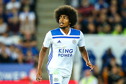 Hamza Choudhury of Leicester City - Mandatory by-line: Robbie Stephenson/JMP - 01/08/2018 - FOOTBALL - King Power Stadium - Leicester, England - Leicester City v Valencia - Pre-season friendly