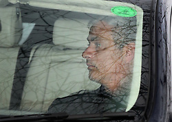 © Licensed to London News Pictures. 16/12/2015. Cobham, UK. Chelsea manager Jose Mourinho arrives for training. Photo credit: Peter Macdiarmid/LNP