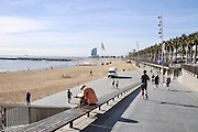 Barcelona beachfront, Spain