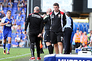 Barnsley Manager Paul Heckingbottom during the EFL Sky Bet Championship match between Ipswich Town and Barnsley at Portman Road, Ipswich, England on 6 August 2016. Photo by Nigel Cole.