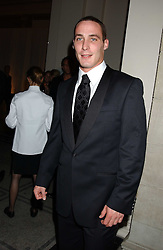 England cricketer SIMON JONES at the 2005 British Fashion Awards held at The V&A museum, London on 10th November 2005.<br />