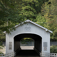 Located off the McKenzie River highway near Vida, the Goodpasture Bridge is one of the most popular covered bridges in Oregon.