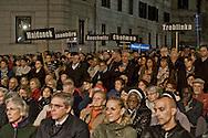 Roma, 17 Ottobre  2015<br /> Commemorazione per la  deportazione degli ebrei romani del 16 ottobre del 1943, organizzata dalla Comunità di Sant'Egidio e la Comunità ebraica di Roma.<br /> Rome, 17 October 2015<br /> 72/o anniversary, Rome remembers October 16 1943, when over a thousand Roman Jews,and among them 350 children,were driven from their homes. An official ceremony and candlelight vigil is organized by the Community of Sant'Egidio and the Jewish Community of Rome.