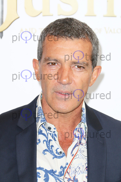 Antonio Banderas, Justin And The Knights of Valour UK film premiere, The May Fair Hotel, London UK, 08 September 2013, (Photo by Richard Goldschmidt)