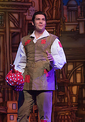 "© Licensed to London News Pictures. 08/12/2011. London, England. Sam Attwater, Dancing on Ice 2011 Winner, stars as Dick Whittington. Dick Whittington panto starring Dame Edna Everage (Barry Humphries) as the ""Saviour of London"" opens at the New Wimbledon Theatre, London. The show, written and directed by Eric Potts is scheduled to run to 15 January 2012. Photo credit: Bettina Strenske/LNP"