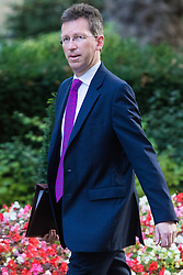 Downing Street, London, September 13th 2016. Attorney General Jeremy Wright arrives for the weekly cabinet meeting at Downing Street.
