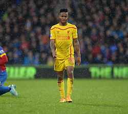 dejected looking Crystal Palace's  - Photo mandatory by-line: Alex James/JMP - Mobile: 07966 386802 - 23/11/2014 - Sport - Football - London -  - Crystal palace  v Liverpool - Barclays Premier League