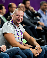 Matej Erjavec during basketball match between National Teams of Slovenia and Spain at Day 15 in Semifinal of the FIBA EuroBasket 2017 at Sinan Erdem Dome in Istanbul, Turkey on September 14, 2017. Photo by Vid Ponikvar / Sportida