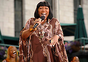 Patti Labelle performs at the ABC Good Morning America Summer Concert Series in Bryant Park on Friday, June 29, 2007 in New York.