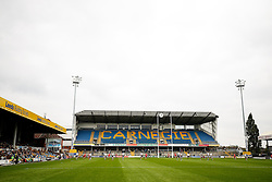 A general view as the  game gets under way - Photo mandatory by-line: Rogan Thomson/JMP - 07966 386802 - 14/09/2014 - SPORT - RUGBY UNION - Leeds, England - Headingley Carnegie Stadium - Yorkshire Carnegie v Bristol Rugby - Greene King IPA Championship.