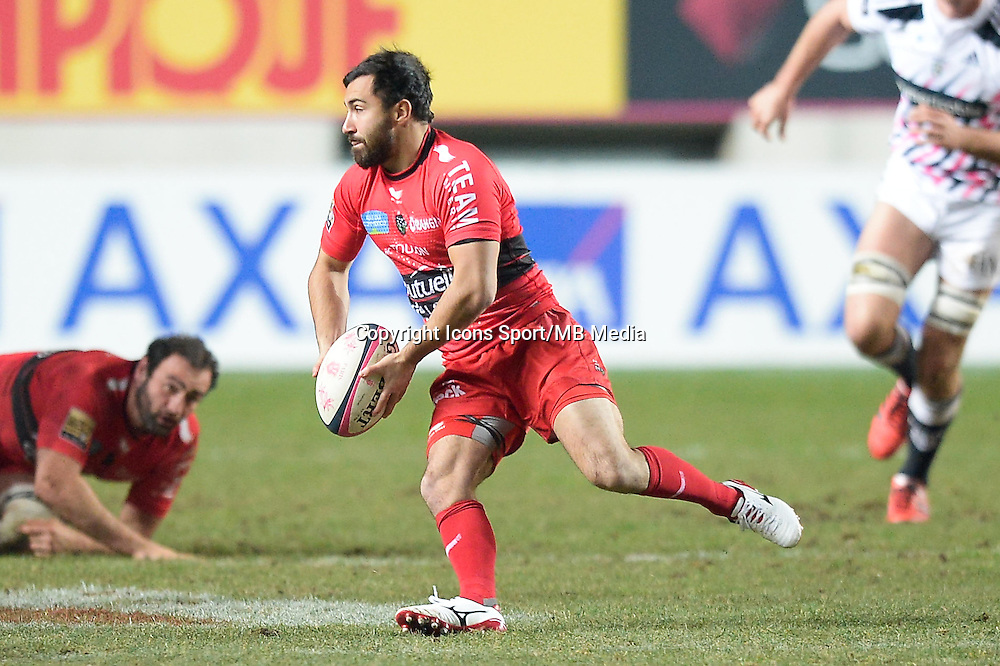 Eric Escande - 28.12.2014 - Stade Francais / Racing Club Toulon - 14eme journee de Top 14<br />