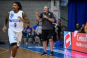 Romeo Sacchetti<br /> Germani Basket Brescia - Vanoli Cremona<br /> Basket Precampionato Serie A LBA 2019/2020<br /> Desio 15 September 2019<br /> Foto Mattia Ozbot / Ciamillo-Castoria