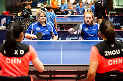 Susan GILROY and Megan SHACKLETON (GBR) during Team events at Day 4 of 16th Slovenia Open - Thermana Lasko 2019 Table Tennis for the Disabled, on May 11, 2019, in Dvorana Tri Lilije, Lasko, Slovenia. Photo by Vid Ponikvar / Sportida