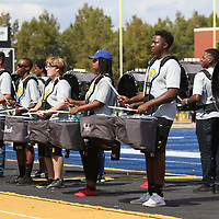 Tupelo High School's drum line performed for the crowd between the Class 3A and Class4A competition