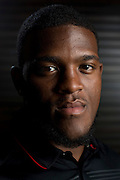DALLAS, TX - JULY 21:  Texas Tech running back Kenny Williams poses for a portrait during the Big 12 Media Day on July 21, 2014 at the Omni Hotel in Dallas, Texas.  (Photo by Cooper Neill/Getty Images) *** Local Caption *** Kenny Williams