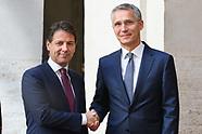 20180611 - Palazzo Chigi  Conte, riceve Jens Segretario generale NATO