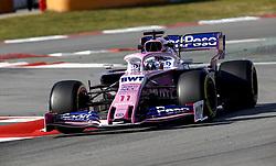 February 18, 2019 - Barcelona, Spain - Motorsports: FIA Formula One World Championship 2019, Test in Barcelona, , #11 Sergio Perez (MEX, Team Racing Point) (Credit Image: © Hoch Zwei via ZUMA Wire)