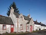 House on Mitchell Place, Wanlockhead, Southern Uplands, Scotland