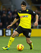 Picture by David Horn/Focus Images Ltd +44 7545 970036<br /> 14/12/2013<br /> Davide Faraoni of Watford during the Sky Bet Championship match at Vicarage Road, Watford.