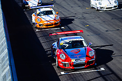 Dino Zamparelli takes his first race win of the season with a fastest lap | Bristol Sport Racing | #88 Porsche 911 GT3 Cup Car | Porsche Carrera Cup GB | Race 1 - Mandatory byline: Rogan Thomson/JMP - 07966 386802 - 27/09/2015 - MOTORSPORT - Silverstone Circuit - Towcester, England - BTCC Meeting Day 2.
