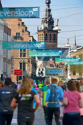 Nederland, Nijmegen, 13-3-2016De Stevensloop.De vijf km.FOTO: FLIP FRANSSEN