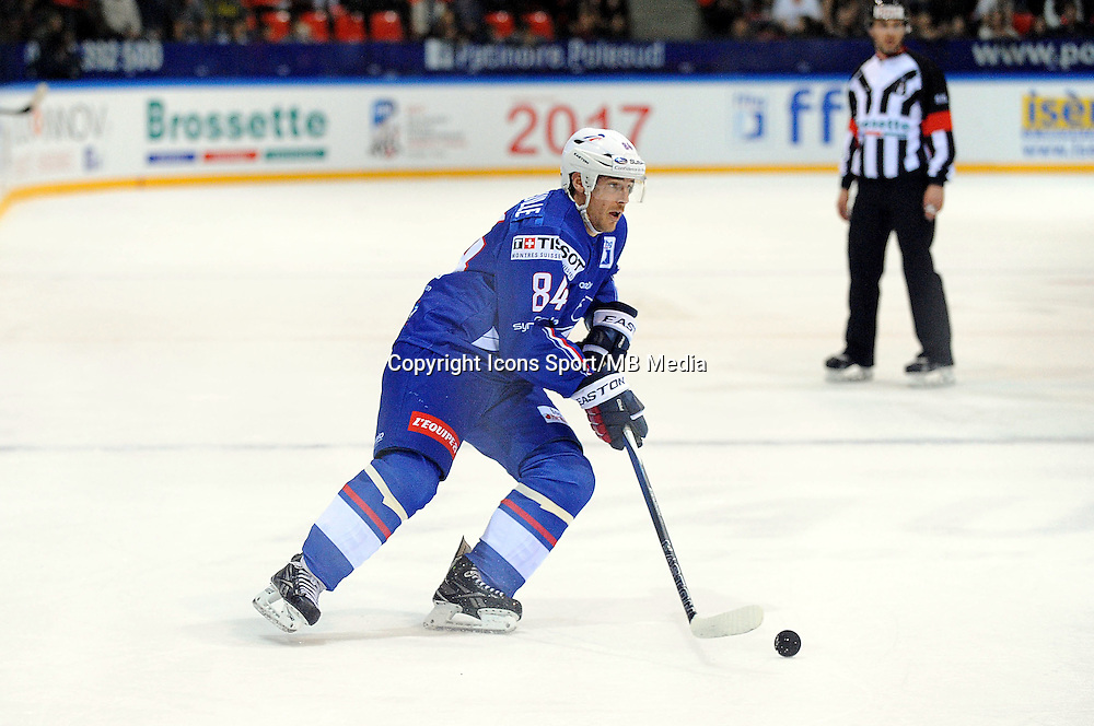 Kevin HECQUEFEUILLE - 24.04.2015 - France / Suisse - Match Amical -Grenoble<br />