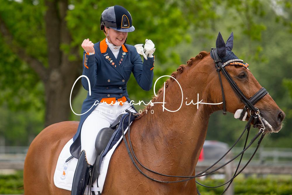 Nieuwenhuis Jeanine, NED, TC Athene<br /> NK Dressuur<br /> {copyrght}<br /> 26/05/19