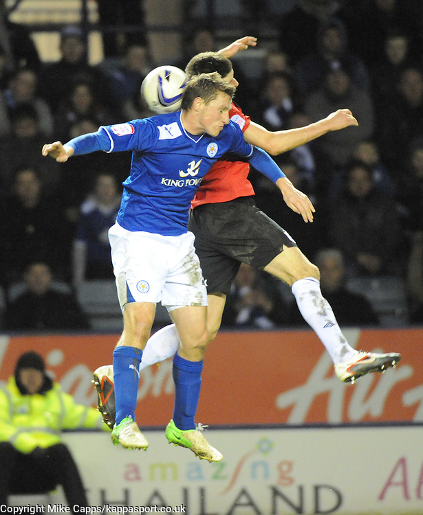 CHRIS WOOD, LEICESTER CITY, Leicester City v Huddersfield Town, NPOWER Championship,  King Power Stadium, Leicester, Tuesday 1st January 2013