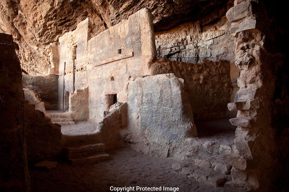 Tonto National Monument, lower ruin, AZ