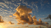 Cloud, Sky, Sunrise, Lydgate Beach Park, Wailua, Kauai, Hawaii