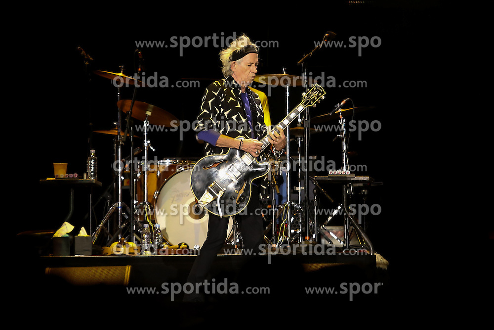 Ketih Richards, guitarist of the British band The Rolling Stones, participates in a presentation at the Nemesio Camacho El Campin Stadium, in Bogota, Colombia, on March 10, 2016. The British band The Rolling Stones is in Bogota as a part of the &quot;Latinamerica Ole Tour 2016&quot;. EXPA Pictures &copy; 2016, PhotoCredit: EXPA/ Photoshot/ COLPRENSA<br /> <br /> *****ATTENTION - for AUT, SLO, CRO, SRB, BIH, MAZ, SUI only*****