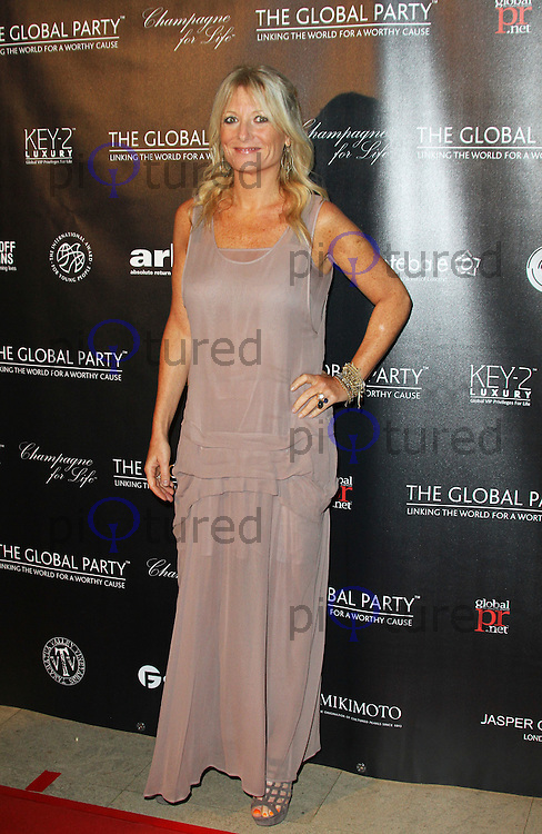 Gaby Roslin attends The Global Party Launch at the Natural History Museum, London, UK. 08 September 2011. Contact: Rich@Piqtured.com +44(0)7941 079620 Picture by Richard Goldschmidt