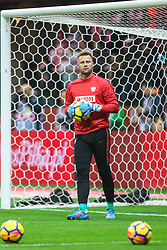 November 10, 2017 - Warsaw, Poland - Artur Boruc (POL) in action during the international friendly match between Poland and Uruguay at National Stadium on November 10, 2017 in Warsaw, Poland. (Credit Image: © Foto Olimpik/NurPhoto via ZUMA Press)