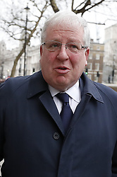 © Licensed to London News Pictures. 08/01/2018. London, UK. Sir Patrick McLoughlin leaves Downing Street as a cabinet reshuffle takes place. A number of senior moves are expected ahead of a new phase in Brexit negotiations and following the recent resignation of First Secretary Damian Green. Photo credit: Peter Macdiarmid/LNP