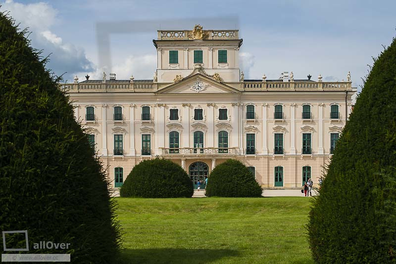 Esterhazy Palace, Schloss Esterhazy (Schloss Fertoed), UNESCO World Heritage, Hungary, Western Hungary, Fertoed