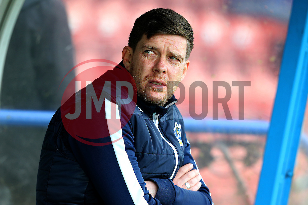 Bristol Rovers manager Darrell Clarke - Mandatory by-line: Matt McNulty/JMP - 04/02/2017 - FOOTBALL - Crown Oil Arena - Rochdale, England - Rochdale v Bristol Rovers - Sky Bet League One