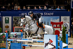 WINKELMANN Rupert Carl (GER), Deep Blue Bridge S <br /> Preis der WIRmachenDRUCK GmbH<br /> Int. jumping competition against the clock (1.50 m) - CSI3* Grosse Tour<br /> Braunschweig - Classico 2020<br /> 06.03.20<br /> © www.sportfotos-lafrentz.de/Stefan Lafrentz