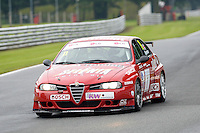 #11 Steve Dymoke - Alfa 156 during HSCC Super Touring Car Championship qualifying at Oulton Park, Little Budworth, Cheshire, United Kingdom. June 07 2014. World Copyright Peter Taylor/PSP. Copy of publication required for printed pictures.  Every used picture is fee-liable. http://archive.petertaylor-photographic.co.uk