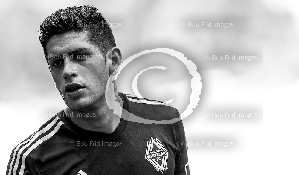 27 July 2014:   Action during a game between Vancouver Whitecaps FC and Dallas FC on Bell Pitch at BC Place Stadium in Vancouver, BC, Canada. ****(Photo by Bob Frid - Vancouver Whitecaps 2014 - All Rights Reserved)***
