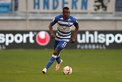 15.04.2016, Schauinsland Reisen Arena, Duisburg, GER, 2. FBL, MSV Duisburg vs TSV 1860 Muenchen, 30. Runde, im Bild Victor Obinna (#15, MSV Duisburg) // during the 2nd German Bundesliga 30th round match between MSV Duisburg and TSV 1860 Muenchen at the Schauinsland Reisen Arena in Duisburg, Germany on 2016/04/15. EXPA Pictures © 2016, PhotoCredit: EXPA/ Eibner-Pressefoto/ Deutzmann<br /> <br /> *****ATTENTION - OUT of GER*****
