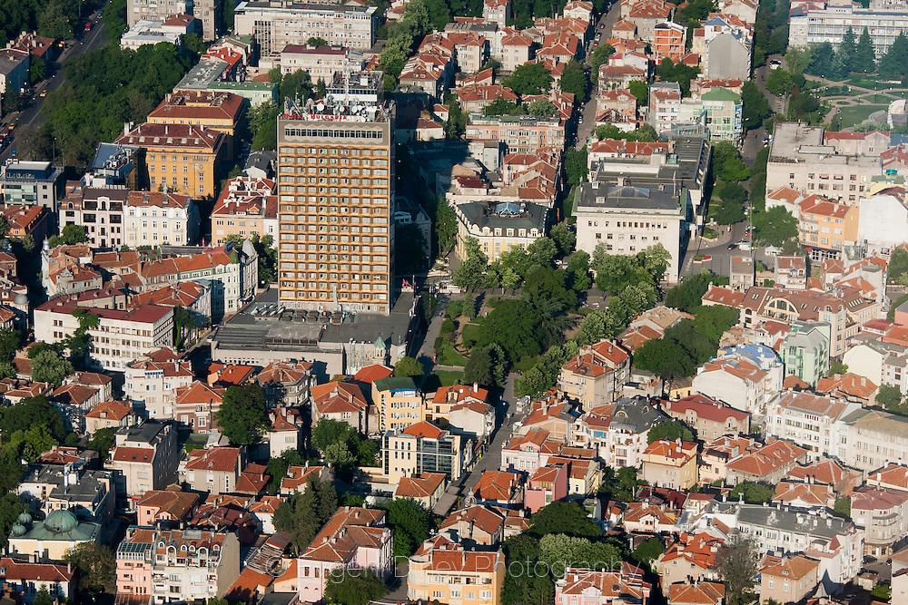 Aerial photographs of Burgas bay