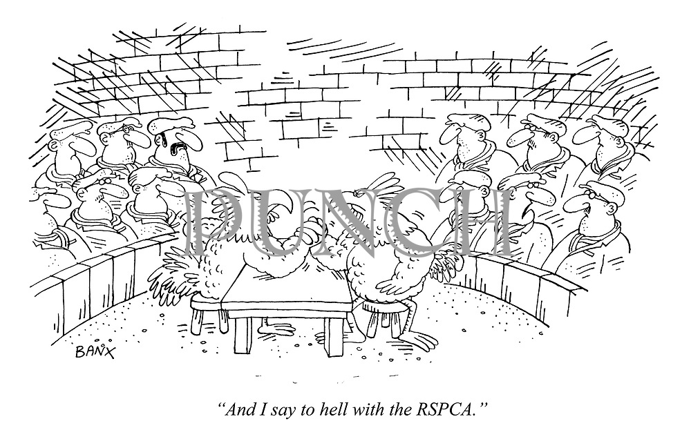 """""""And I say to hell with the RSPCA."""""""