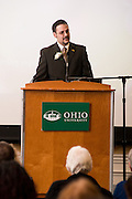 2014 Outstanding Administrator Awards and Recognition of Administrators' Years of Service on March 10, 2014. Photograph by Ohio University / Rob Hardin